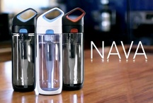 KOR Nava / Meet the Nava, a new innovative filtering vessel by KOR.  Can we turn back the clock on bottled water and make every day tap water taste great with every sip? Launching on Kickstarter on April 8, 2013 http://j.mp/Y3vPZZ / by KOR Water