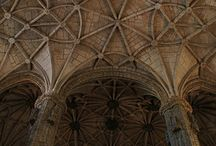 faithless' / chapels, cathedrals, churches, bows, arches warheads, rosettes, / by Laura Canha
