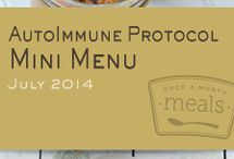 Autoimmune Protocol Mini July 2014 Freezer Menu / by Once A Month Meals