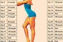 Leg/Butt Exercises / by Liz Lerro