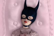 Ray Caesar / Ray Caesar is an incredible Digital Artist. By making sketches and scanning into a 3D modelling software he is able to create exquisitely beautiful 'otherworlds'. Take a look and judge for yourself. I hope it will enchant and bewilder you... / by Lilly Vass