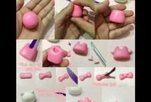 Fondant /gum paste shapes / by Evelyn Galarza