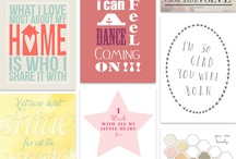 Printables / by Jennifer Reichart