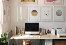 Mee Office {Inspiration to get 'er done} / Any set up, or product or time management tip or technique for helping business succeed and be fun, happy and enjoyable! Yes please! / by Melissa E Earle