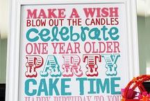Birthdays / by Shannon Alford