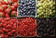 fruit & veggies (mostly fresh...but not all) / by Barbara Sullivan