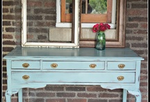 shape and color ideas 4 furniture projects / by Sidney Cook