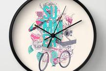 Wall clock / by Katazoom