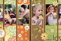 Scrap booking Layouts / by Get Organized Now!