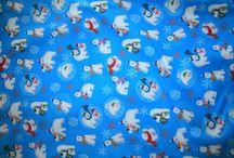 Fabric Christmas PJs / by Lisa Milliner Canavan