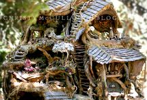 fairy houses and gardens / by Jennifer Tough