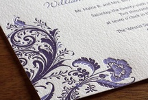 {invitation design} allison / by Invitations by Ajalon
