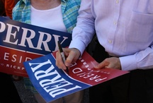 Rick Perry For President / 2012 -- Heck Yeah! / by Melissa Clouthier