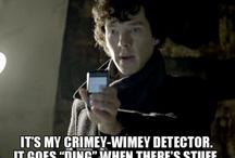 Sherlocked / Sherlock in all forms. / by Jennifer Benn