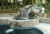 Hot tub and Pools / by Tracy Allison