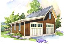 Garages / by Kay Holsted