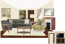 Living room / by Marlene Goreham