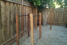 Construction on House yard fitness build / by DL Willson