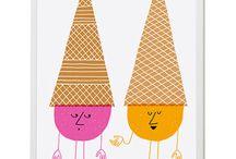 icecream art / by Renee Glastonbury