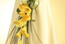 Green & Yellow wedding colors / by BridalSassique.com
