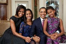 1st Family  and President Barack Obama!!! / by Rhonda Seyfus