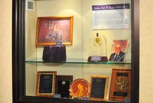 Arthur Kagin display / The Dwight N. Manley Numismatic Association Library has a new window exhibit on display commemorating the legacy of Arthur Kagin. / by ANA
