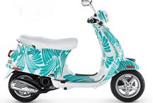 RIDE COLORFULLY  / & my captions #ridecolorfully Kate Spade Vespa Contest  / by Kate Nichols