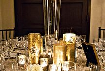 Table tops / Party decor / by Ginger Stokes Rodriguez
