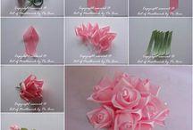 Kanzashi - flower making / by Lynne Decker