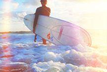 Surfer chick!  / by AJ Larsen