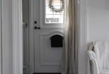 Home: HALLWAY and Front DOOR / by Songbird Blog