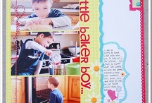 Scrapbook layouts and Craft Ideas  / I am a big scrapbooker and always looking for great ideas for pages. i would also like to be crafty but it doesn't always happen...but these are crafts I would try. / by Gina Harman