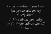Lyrics / by Amy Lamb