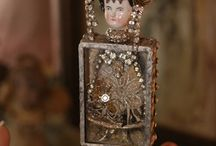 Assemblage Art Inspiration / by Lyn Parker Gill