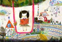 illustration / by Sansu Sungyeon