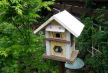 Architectural Birdhouses / Many people who have fond of growing birds in their own home or little garden, think of the cool houses for them. Here in this blog, I have collected 12 such cool architectural birdhouses that not only comfort your birds but also add extra beauty and fashion. / by Thomas Benner