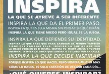 #YoInspiro / Tú nos inspiraste a cambiar! Cuéntanos qué inspiras. Utiliza #YoInspiro en Facebook y Twitter.  / by Cyzone