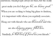 Quotes About Friendship / by Sannah Parker