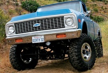 Chevy Trucks / by Jacob Cossairt