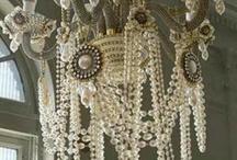 Chandelier glamour / by Restoration Redoux