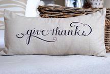 thanksgiving ideas / by Amy Huntley (TheIdeaRoom.net)
