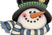 Frosty the Snowman..... / Please no pin raiding...Pin only 10 pins per day....Thanks. / by Karen Gould