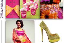Wedding Inspiration Boards  / Wedding Inspiration Boards for South Asian brides. Desi weddings, bridal clothing, bridal makeup, wedding shoes, wedding cakes / by Shaadi Bazaar