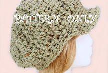 Crochet hat patterns / by Rain Blanken