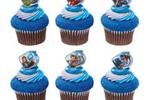 Superhero Cupcake Rings / Shop for your favorite superhero cupcake rings on our website SimplySuperheroes.com / by SimplySuperheroes.com