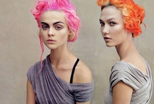 Pink Hair / by Kelly Nishimoto