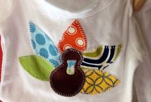 It's sew appliquéd.... and cute!! / Clothes or accessories with an appliqué  / by Michelle Hackney