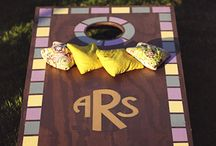 Corn Hole Boards / by Julie Herring