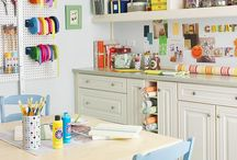 Scrapbook rooms and organizing / by Angie Gates