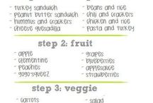 Healthy foods options / by Kelly Piantigini